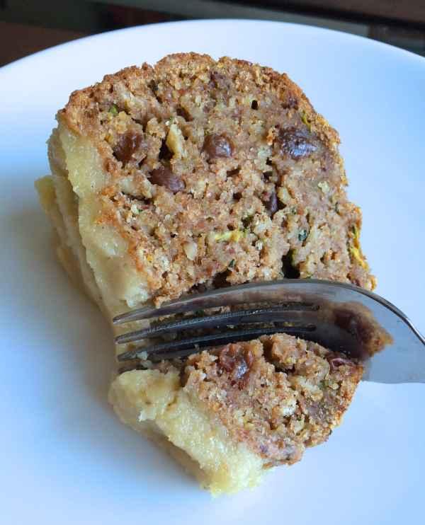 Date Sweetened Zucchini Bread