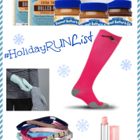 #HolidayRunList And Pro Compression Discount Code!