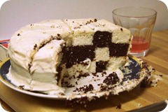 cake profile thumb Happy Birthday Husband and Checkerboard Cake