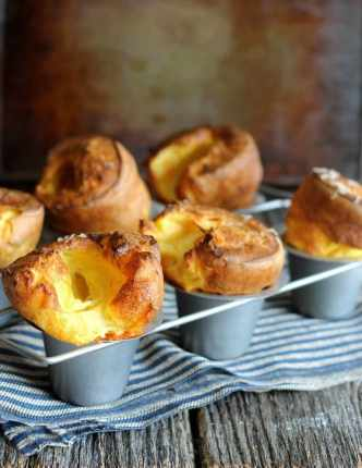 white cheddar popovers