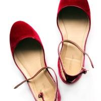 Added to my wardrobe: Zara velvet slippers