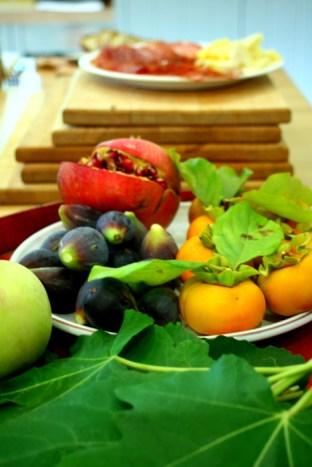 Fruit, veg board from Staglin garden