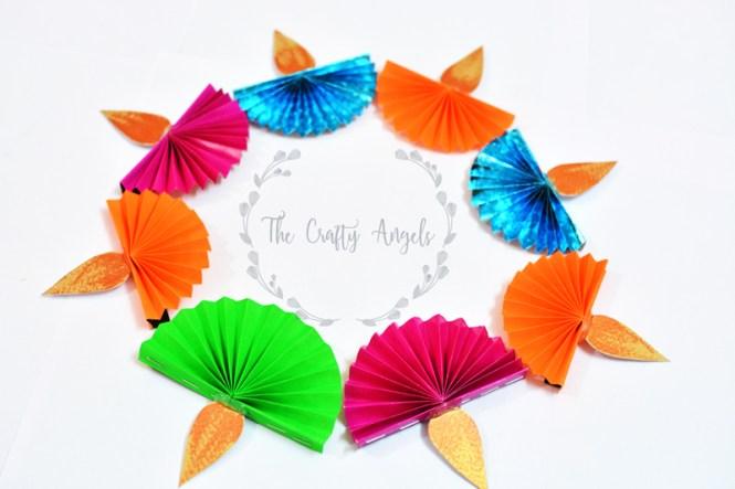 Diwali Craft For Kids Paper Diya THE CRAFTY ANGELS
