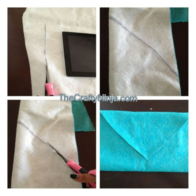 ipad envelope clutch