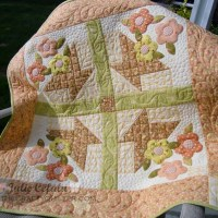 May Day Basket Wallhanging Tutorial - Part 3