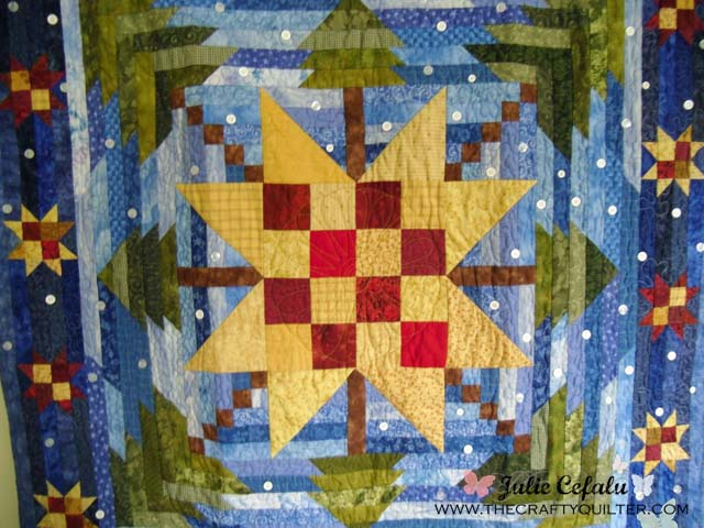 Winter Skies made by The Crafty Quilter
