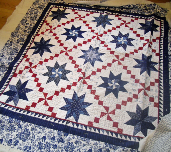 Star Quilt  @ The Crafty Quilter