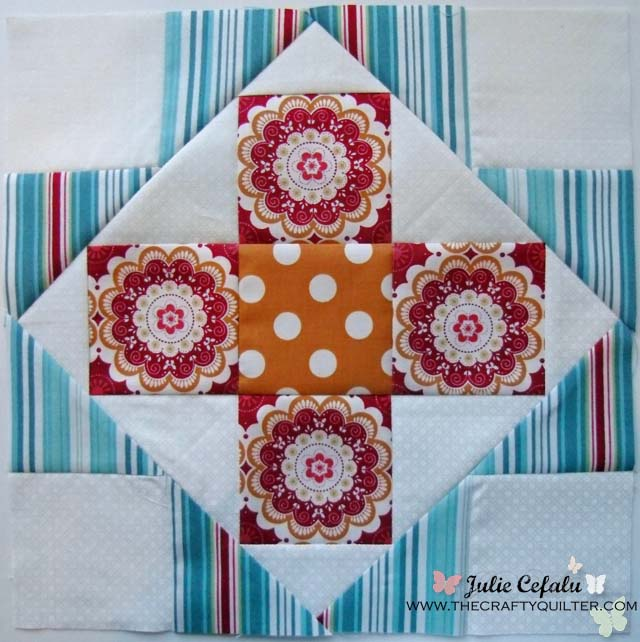 sugar block 3 @ The Crafty Quilter