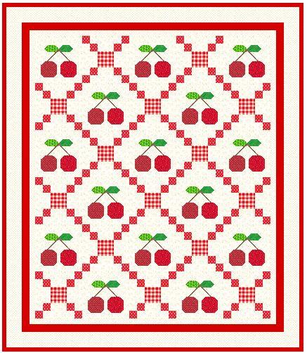 Cherry Quilt