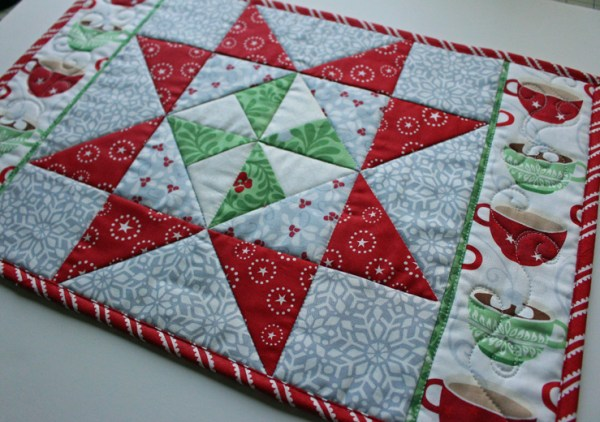 placemat angled