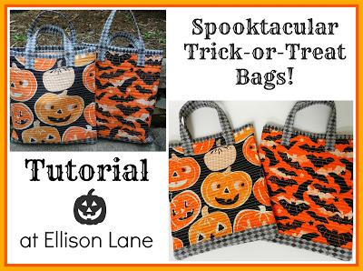 trick or treat bag tutorial