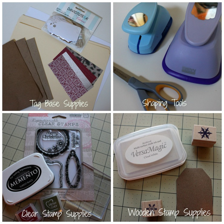 Tag Supplies Collage