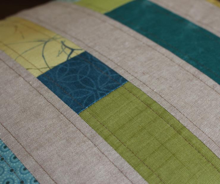 pillow stripe detail