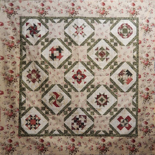 Blogger Girls Block of the Month II @ Open Gate Quilts