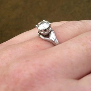 Nicole's Engagement Ring