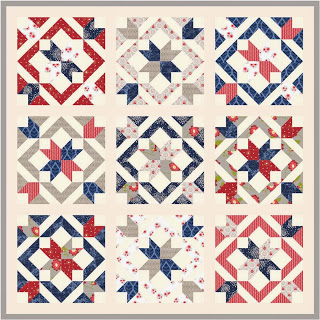 Star Light Star Bright Quilt Along @ Happy Quilting