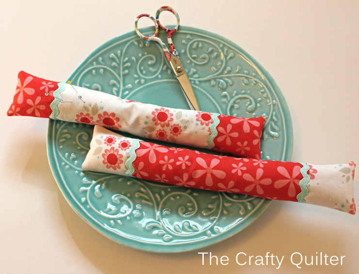 Two Skinny Pincushions @ The Crafty Quilter