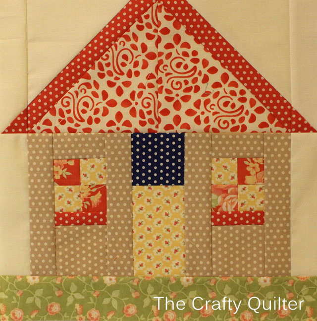 FQS 2014 BOM, block 9 @ The Crafty Quilter