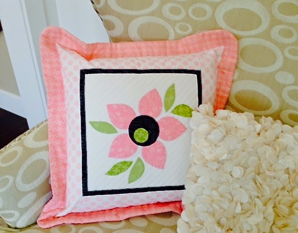 PDQ Club Pillow Project designed by Jill Finley for Henry Glass Fabrics
