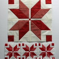 Nordic Mini Quilt Along, Row 1