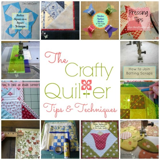 Tips & Techniques at The Crafty Quilter