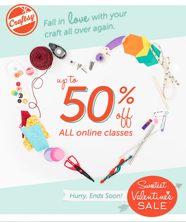 Sweetest Craftsy Sale