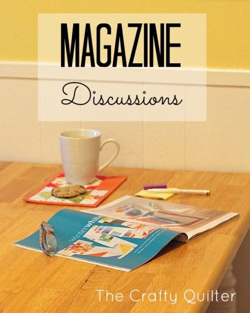 magazine discussions