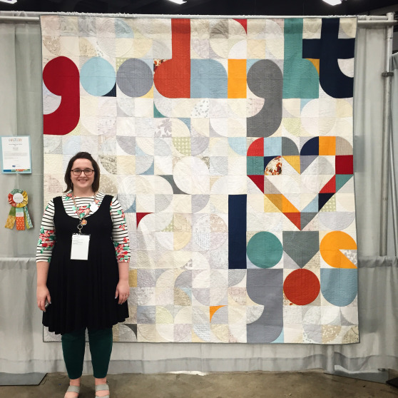 """People's Choice:  """"Quilt For Our Bed"""" by Laura Hartrich"""