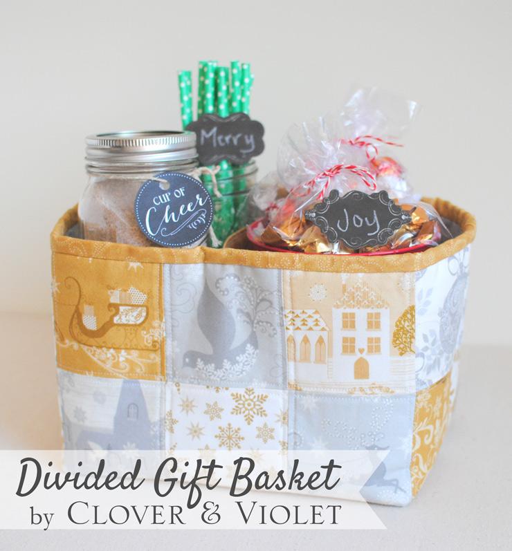 Divided Gift Basket @ Clover & Violet