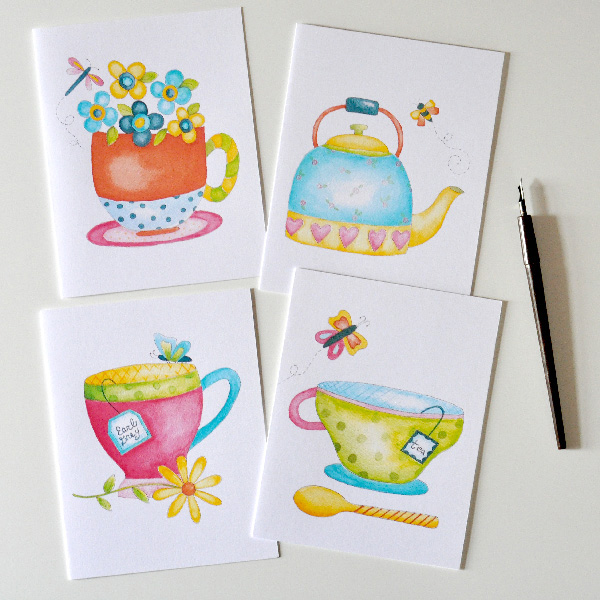 Cozy Afternoon Note Cards 2