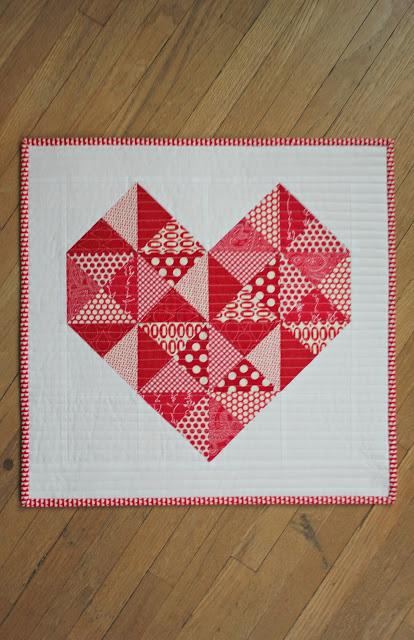 True Love Mini Quilt