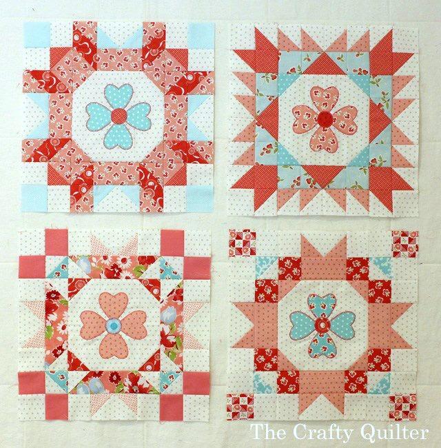 Sew Sweet Simplicity Blocks made by Julie Cefalu