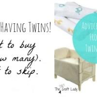 My Picks for Newborn Twin Essentials, Part 1