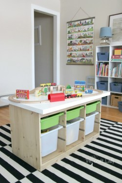 First Tons This Issuch An Ikea Hack Train Activity Table Crazy Craft Lady Kids Activity Table Chairs Activity Table An Ikea Hack Custom Train