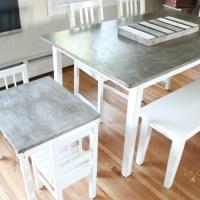Concrete Table Top Project