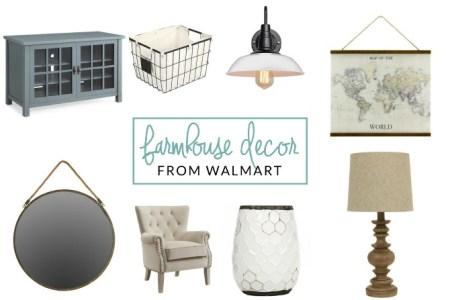 walmart farmhouse decor picks
