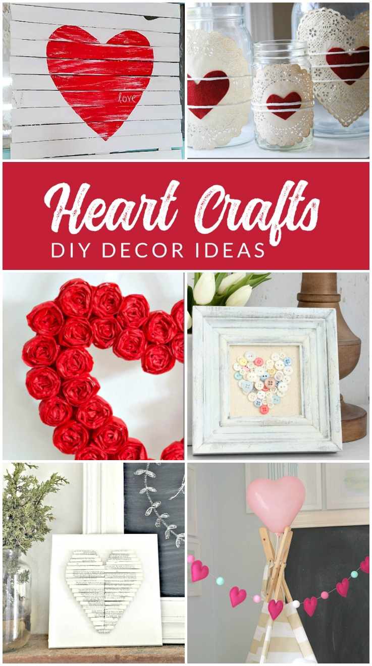 Cushty Se Diy Se Diy Heart Decorations Make Valentine Decorations Valentine S Day Decoration Ideas Make Your Own Day Decor Home Office Valentine S Day Decorations curbed Valentines Day Decor