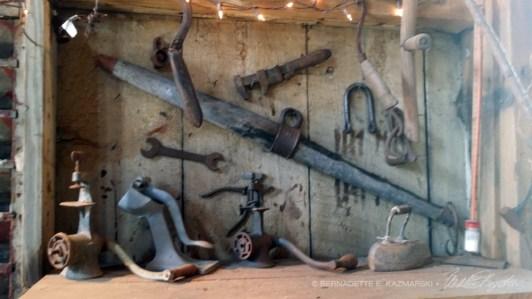 Vintage tools.