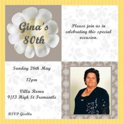 Enamour Nonna Nonna Birthday Invitations Mummy 80th Birthday Invitations S 80th Birthday Invitations Amazon