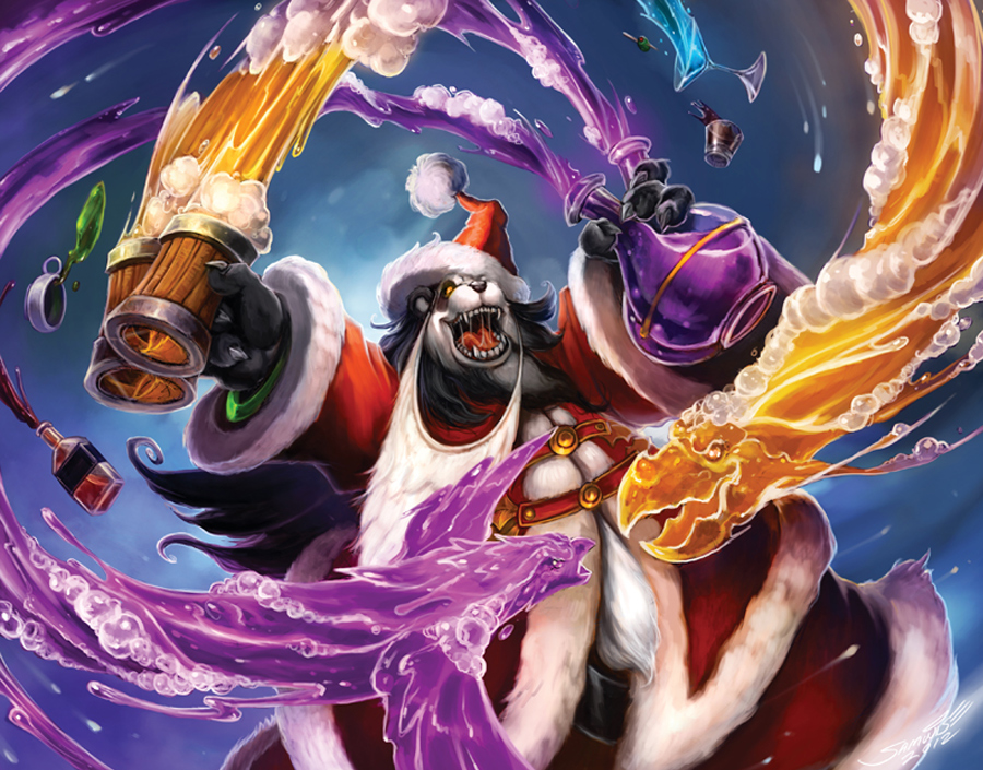 WoW TCG Sneak Peek - The Feast of Winter Veil (2/6)