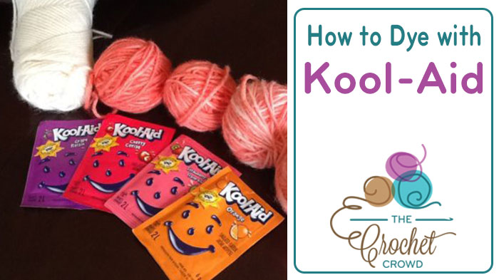 How to Dye Yarn with Kool-Aid