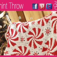 Peppermint Throw, Notes + Video Tutorial