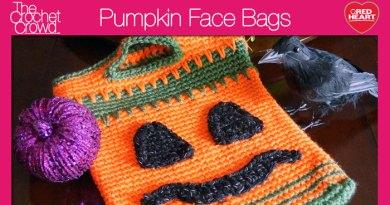 Pumpkin Face Bags