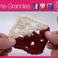 How to Crochet Two Tone Granny
