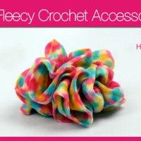 Fleecy Hair Scrunchies & Accessories