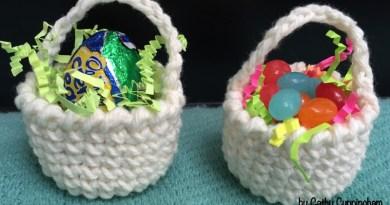 Sweet Treat Crochet Baskets