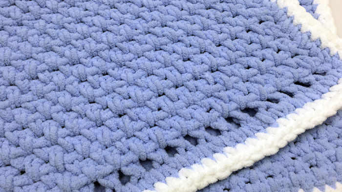 Beginner Crochet Patterns Baby Blanket : Crochet Baby Blanket for Beginners + Tutorial - The ...