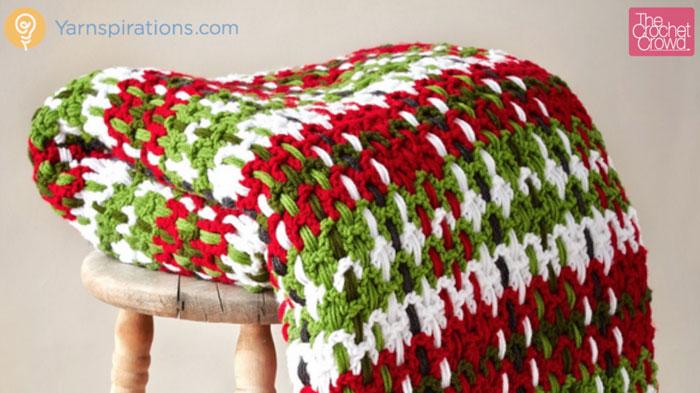 Free Crochet Patterns Tartan Rugs : Crochet Plaid Blanket + Tutorial - The Crochet Crowd