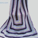 Crochet Granny Rectangle Afghan + Tutorial