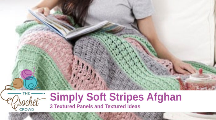 Free Crochet Patterns Using Caron Simply Soft Yarn : Crochet Simply Soft Stripes Afghan - The Crochet Crowd